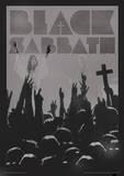 Black Sabbath Music Poster Masterprint