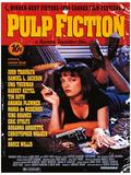 Pulp Fiction - Uma On Bed Movie Poster Reprodukcja arcydzieła