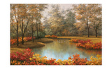 Beauty of Autumn Poster by Diane Romanello