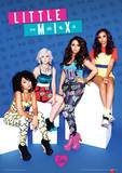 Little Mix (Blue Mix) Music Poster Masterprint