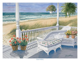 Wicker Porch Print by Ronald Williams