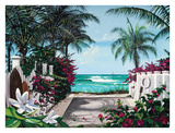 Pathway To Paradise Posters by Scott Westmoreland