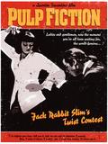 Pulp Fiction - Twist Contest Movie Poster Masterdruck