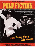 Pulp Fiction - Twist Contest Movie Poster Stampa master