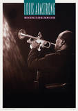 Louis Armstrong (Mack The Knife) Music Poster Masterprint