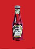 Heinz - Tomato Ketchup Bottle Art Poster Masterprint