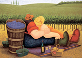 Lowell Herrero - Summer Picnic Plakát