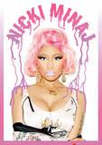 Nicki Minaj (Dripping Logo) Music Poster Masterprint