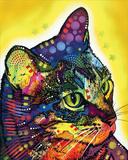 Confident Cat Kunst van Dean Russo