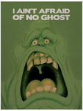 Ghostbusters (Slimer) Movie Poster Masterprint
