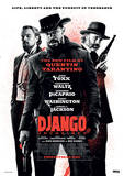 Django Unchained - Life, Liberty And The Pursuit Of Vengeance Movie Poster Masterprint