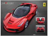 Ferrari (Laferrari) Poster Stampa master