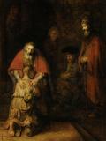 Den fortabte søns hjemkomst, ca. 1669 Plakater