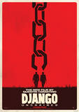 Django Unchained Movie Poster Masterprint