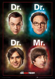Big Bang Theory - Dr Mr Television Poster Masterprint