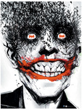 DC Comics  Joker Bats  Comic Joker Comic Poster