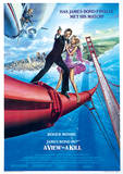 James Bond (A View To A Kill One-Sheet) Movie Poster Print Masterprint