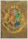 Harry Potter (Hogwarts Crest) Movie Poster Masterprint