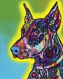 Doberman Poster by Dean Russo