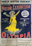 London Olympia England Vintage Style Travel Poster Masterprint