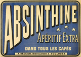 Absinthe Apéritif Vintage Style Advertisement Poster Masterprint