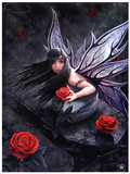 Anne Stokes (Rose Fairy) Fantasy Poster Print Lámina maestra