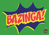 The Big Bang Theory - Bazinga Icon Television Poster Masterprint