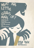 Star Trek - What Are Little Girls Made Of Vintage Style Television Poster Masterdruck