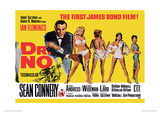 James Bond (Doctor No Yellow) Movie Poster Print Masterprint