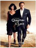James Bond (Quantum Of Solace One-Sheet) Movie Poster Print Masterprint