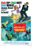 James Bond (Her Majestys Service One-Sheet) Movie Poster Print Masterprint