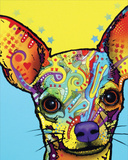 Chihuahua 1 Art by Dean Russo