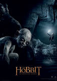 The Hobbit - Gollum Movie Poster Masterprint