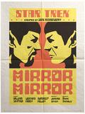 Star Trek - Mirror Mirror Vintage Style Television Poster Masterprint