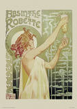 Absinthe Robette Vintage Style Advertisement Poster Masterprint