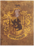 Harry Potter (Hufflepuff Crest) Movie Poster Stampa master