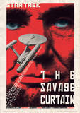 Star Trek - The Savage Curtain Vintage Style Television Poster Masterdruck