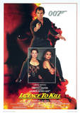 James Bond (License To Kill One-Sheet) Movie Poster Print Masterprint
