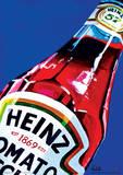 Heinz - Tomato Ketchup Orla Walsh Art Poster Masterprint