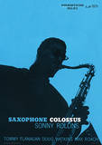 Sonny Rollins (Saxophone Colossus) Music Poster Masterprint