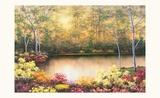 Bursting in Autumn Posters by Diane Romanello