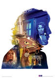 Doctor Who - Mcgann Television Poster Masterprint