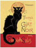 Chat Noir Vintage Style Advertisement Poster Masterprint