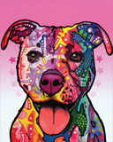 Cherish the Pitbull Posters by Dean Russo