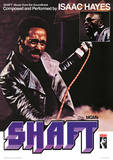 Shaft - Isaac Hayes Music Poster Masterdruck