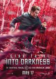 Star Trek (Into Darkness – Kirk Banner) Movie Poster Masterdruck