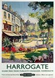 Harrogate Vintage Style Travel Poster Masterprint