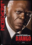 Django Unchained - Samuel L. Jackson Movie Poster Masterdruck