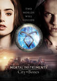 The Mortal Instruments City Of Bones (Two Worlds) Movie Poster Masterprint