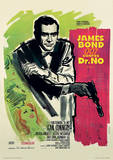 James Bond (Doctor No French) Movie Poster Print Masterprint